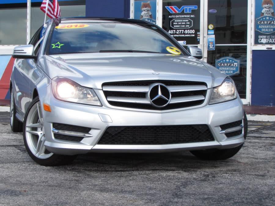 Used Mercedes-Benz C-Class 2dr Cpe C250 RWD 2012 | VIP Auto Enterprise, Inc. Orlando, Florida