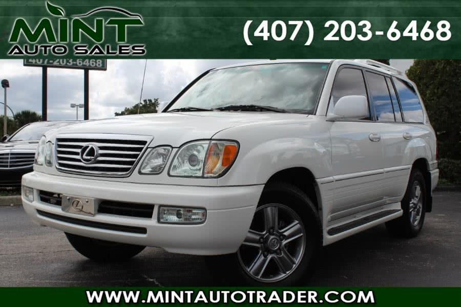 Used 2007 Lexus LX 470 in Orlando, Florida | Mint Auto Sales. Orlando, Florida
