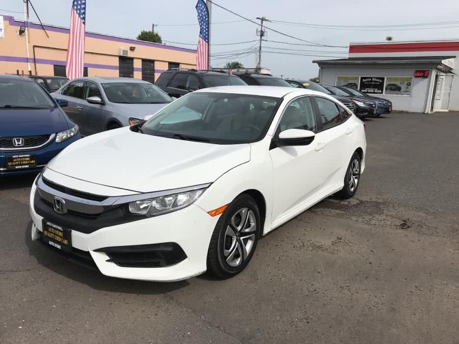 Used 2016 Honda Civic Sedan in West Hartford, Connecticut | Auto Store. West Hartford, Connecticut