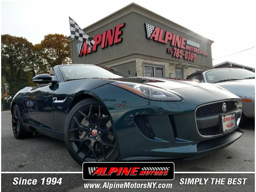 Used 2015 Jaguar F-TYPE S in Wantagh, New York | Alpine Motors Inc. Wantagh, New York