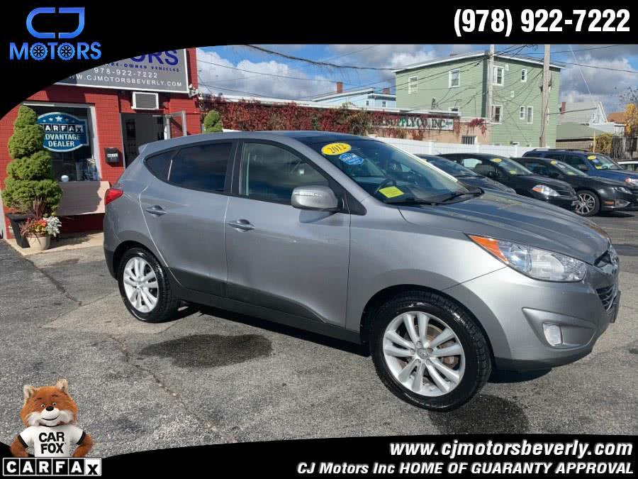 Used 2012 Hyundai Tucson in Beverly, Massachusetts   CJ Motors Inc. Beverly, Massachusetts