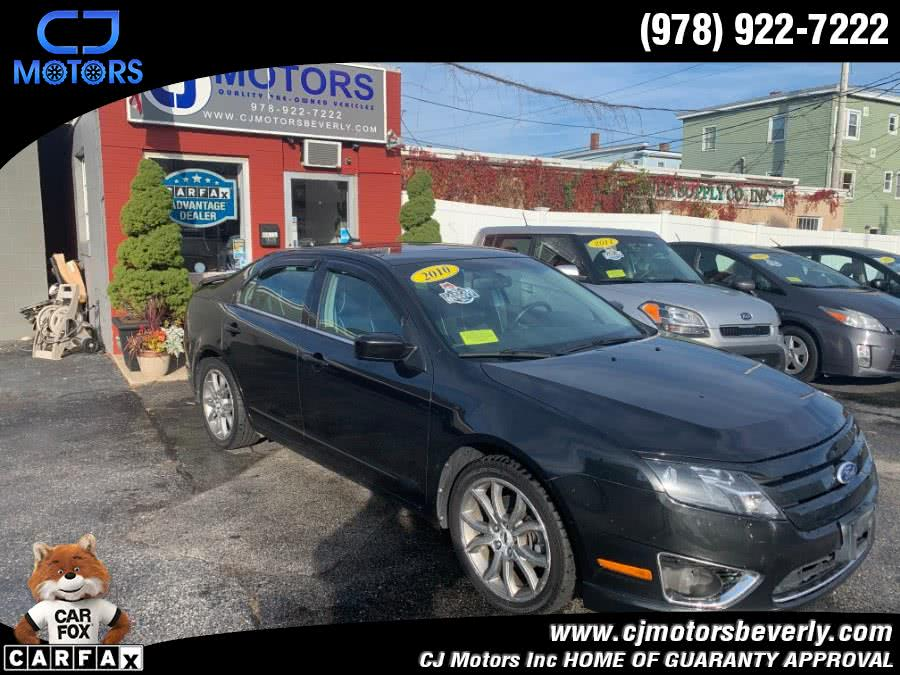 Used 2010 Ford Fusion in Beverly, Massachusetts   CJ Motors Inc. Beverly, Massachusetts