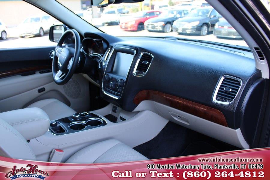 2016 Dodge Durango AWD 4dr Citadel Anodized Platinum, available for sale in Plantsville, Connecticut | Auto House of Luxury. Plantsville, Connecticut