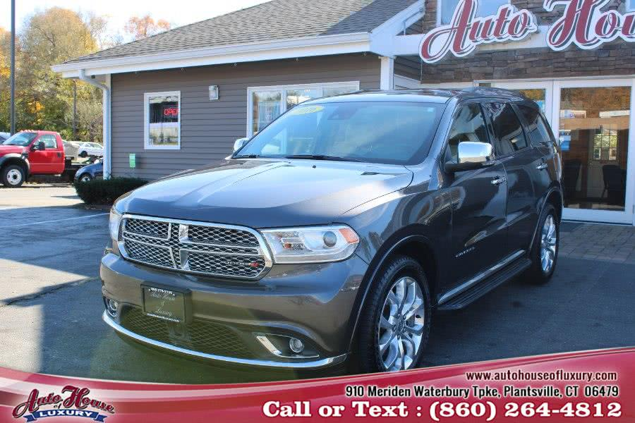 Used 2016 Dodge Durango in Plantsville, Connecticut | Auto House of Luxury. Plantsville, Connecticut