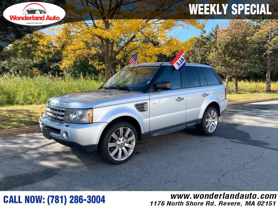 Used 2009 Land Rover Range Rover Sport in Revere, Massachusetts   Wonderland Auto. Revere, Massachusetts