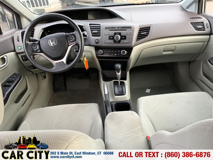 2012 Honda Civic Sdn 4dr Auto LX, available for sale in East Windsor, Connecticut | Car City LLC. East Windsor, Connecticut