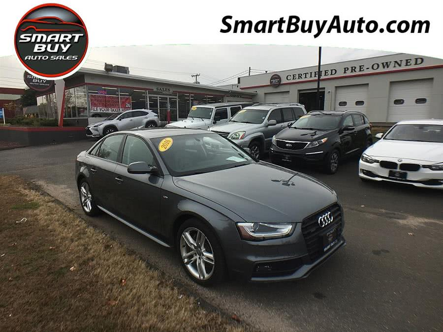 Used 2016 Audi A4 in Wallingford, Connecticut | Smart Buy Auto Sales, LLC. Wallingford, Connecticut