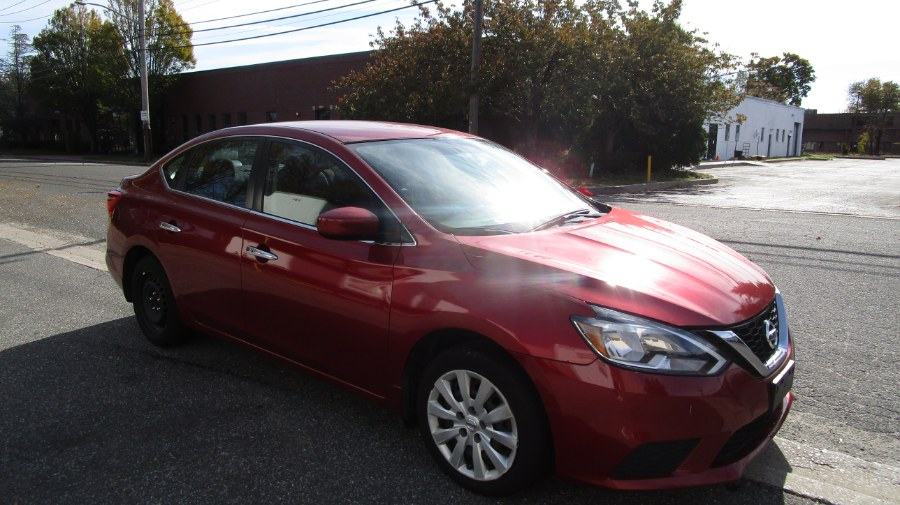 2016 Nissan Sentra 4dr Sdn I4 CVT S, available for sale in Hicksville, New York | H & H Auto Sales. Hicksville, New York
