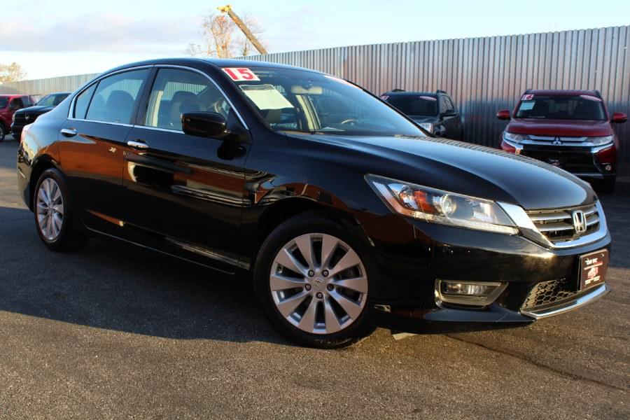 Used 2015 Honda Accord Sedan in Deer Park, New York | Car Tec Enterprise Leasing & Sales LLC. Deer Park, New York