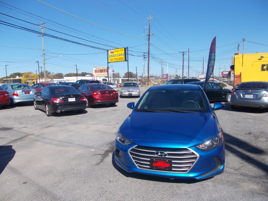 2017 Hyundai Elantra Value Edition 2.0L Auto (Alabama), available for sale in Temple Hills, Maryland   Temple Hills Used Car. Temple Hills, Maryland