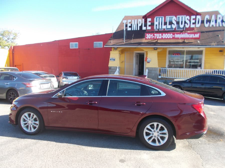 2016 Chevrolet Malibu 4dr Sdn LT w/1LT, available for sale in Temple Hills, Maryland | Temple Hills Used Car. Temple Hills, Maryland