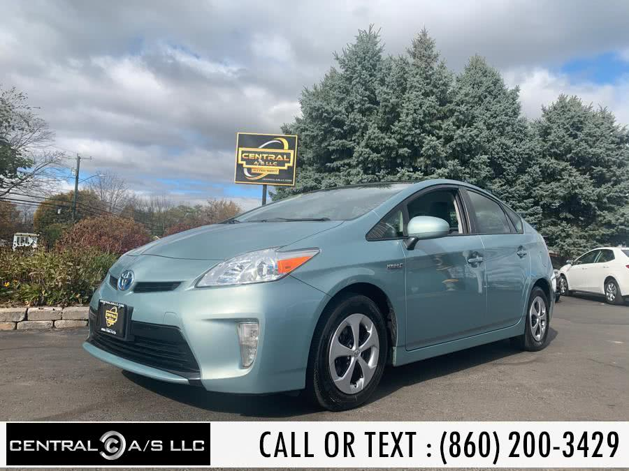 Used Toyota Prius 5dr HB Five (Natl) 2012 | Central A/S LLC. East Windsor, Connecticut