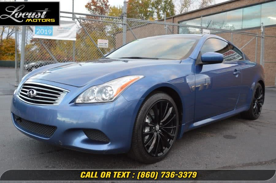 Used 2010 Infiniti G37 Coupe in Hartford, Connecticut | Locust Motors LLC. Hartford, Connecticut