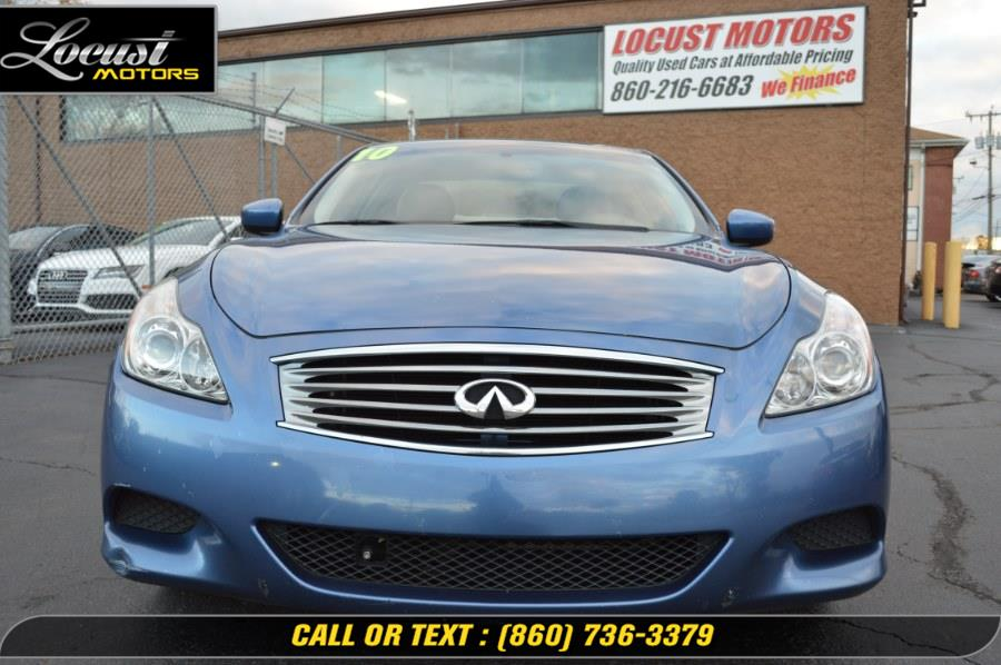 2010 Infiniti G37 Coupe 2dr Journey RWD, available for sale in Hartford, Connecticut | Locust Motors LLC. Hartford, Connecticut