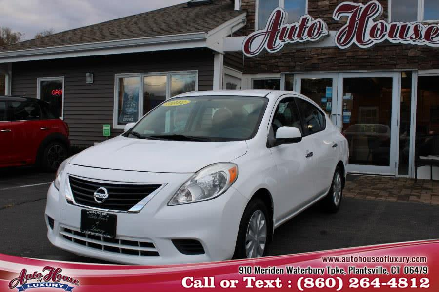 Used 2012 Nissan Versa in Plantsville, Connecticut | Auto House of Luxury. Plantsville, Connecticut