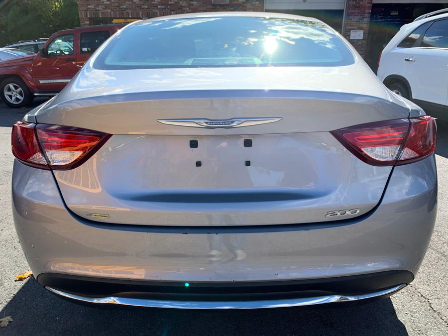 2015 Chrysler 200 4dr Sdn Limited FWD, available for sale in New Britain, Connecticut   Central Auto Sales & Service. New Britain, Connecticut