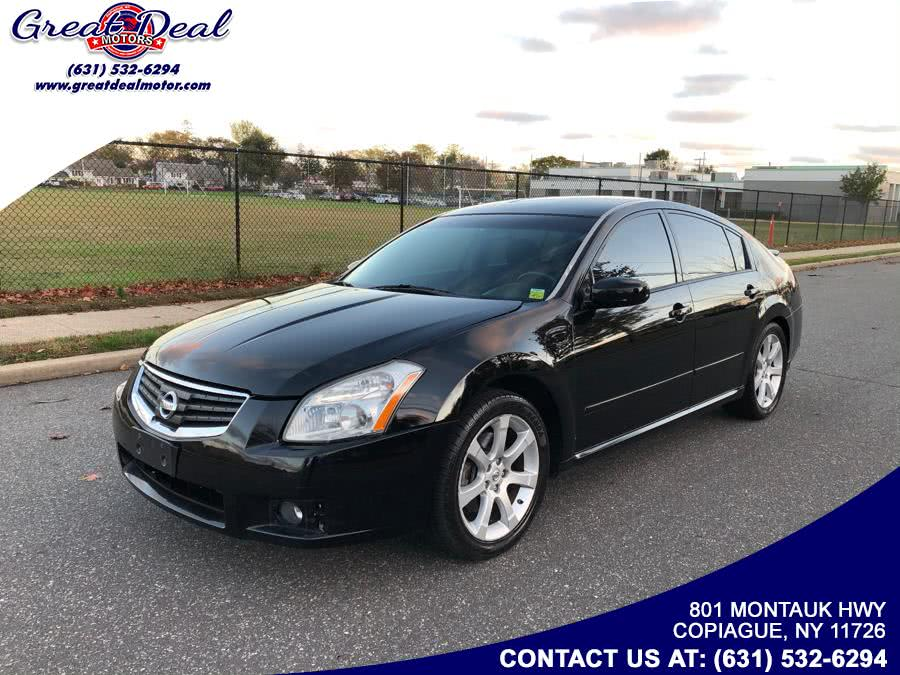 Used Nissan Maxima 4dr Sdn CVT 3.5 SL 2008 | Great Deal Motors. Copiague, New York