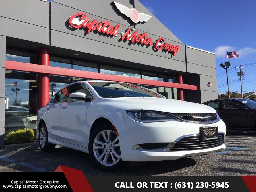 Used Chrysler 200 4dr Sdn Limited FWD 2015 | Capital Motor Group Inc. Medford, New York