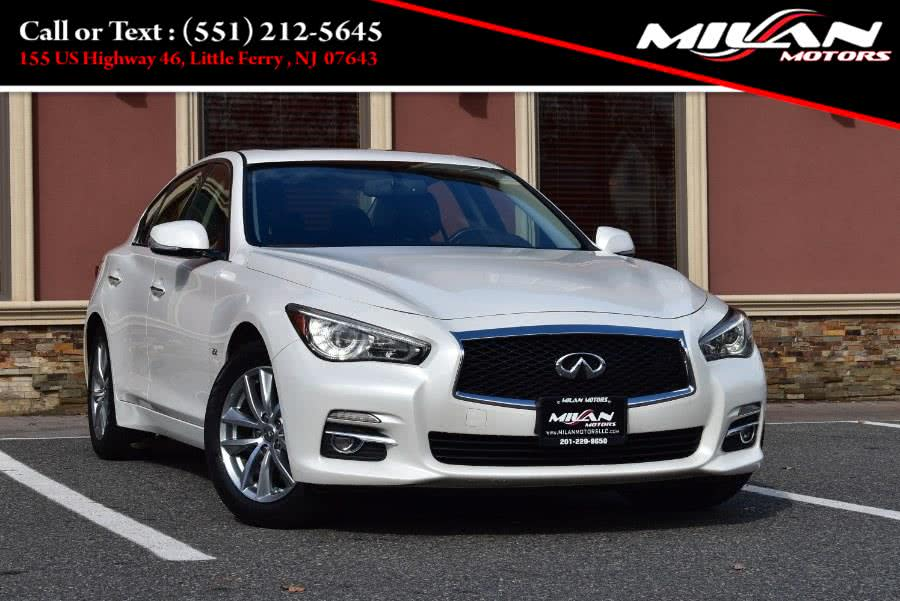 Used INFINITI Q50 4dr Sdn 2.0t Premium AWD 2016 | Milan Motors. Little Ferry , New Jersey