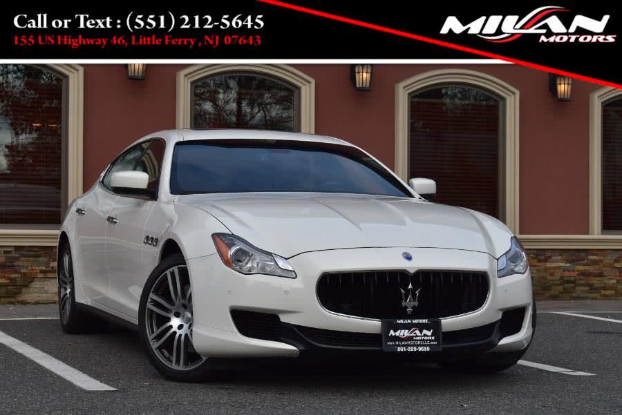 Used 2016 Maserati Quattroporte in Little Ferry , New Jersey | Milan Motors. Little Ferry , New Jersey