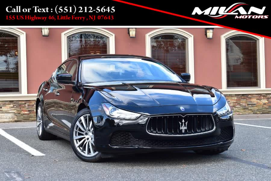 Used Maserati Ghibli 4dr Sdn S Q4 2016 | Milan Motors. Little Ferry , New Jersey