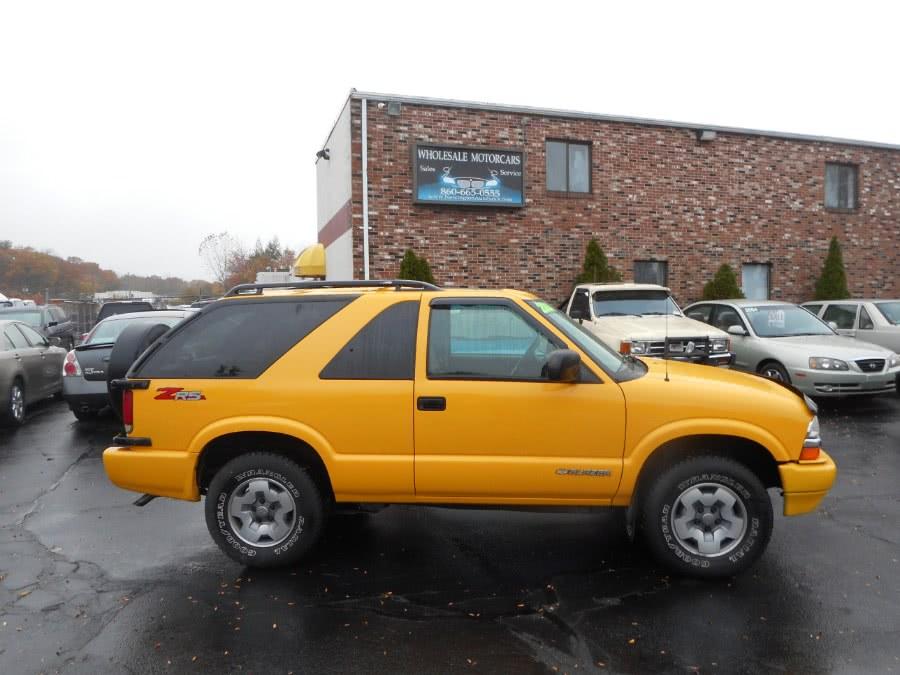 Used 2004 Chevrolet Blazer in Newington, Connecticut | Wholesale Motorcars LLC. Newington, Connecticut