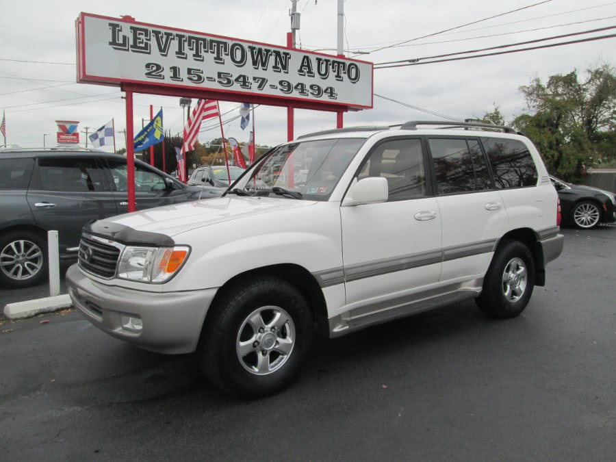 Used 2002 Toyota Land Cruiser in Levittown, Pennsylvania | Levittown Auto. Levittown, Pennsylvania