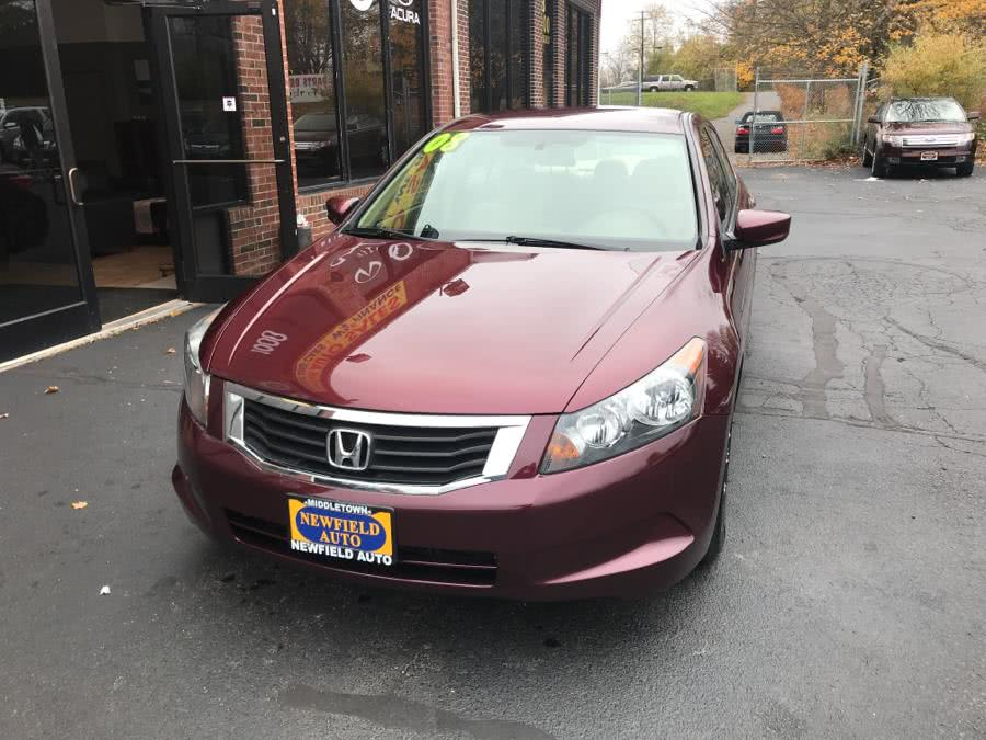 Used 2008 Honda Accord Sdn in Middletown, Connecticut | Newfield Auto Sales. Middletown, Connecticut