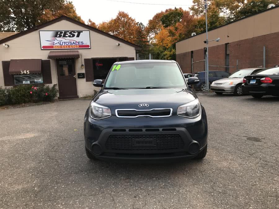 2014 Kia Soul 5dr Wgn Auto +, available for sale in Manchester, Connecticut | Best Auto Sales LLC. Manchester, Connecticut