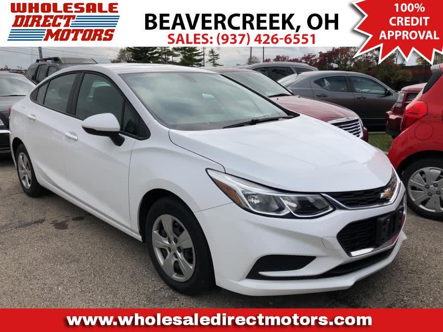 Used Chevrolet Cruze 4dr Sdn 1.4L LS w/1SB 2017 | Wholesale Direct Motors. Beavercreek, Ohio