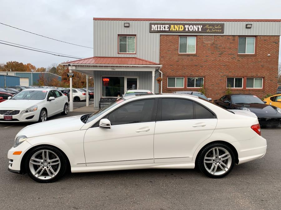 2013 Mercedes-Benz C-Class 4dr Sdn C300 Sport 4MATIC, available for sale in South Windsor, Connecticut | Mike And Tony Auto Sales, Inc. South Windsor, Connecticut