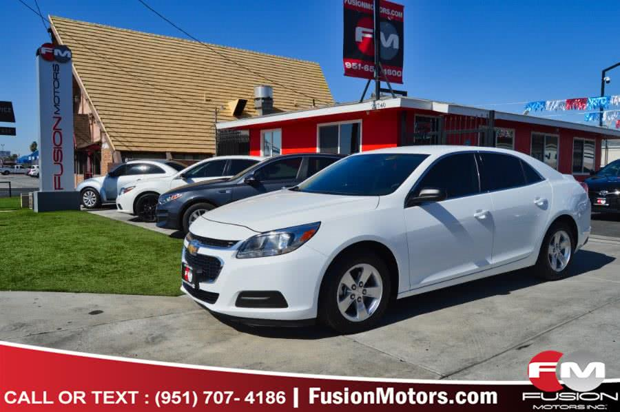 Used 2016 Chevrolet Malibu Limited in Moreno Valley, California | Fusion Motors Inc. Moreno Valley, California