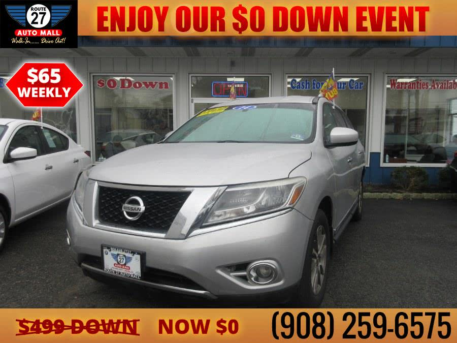 Used 2014 Nissan Pathfinder in Linden, New Jersey | Route 27 Auto Mall. Linden, New Jersey