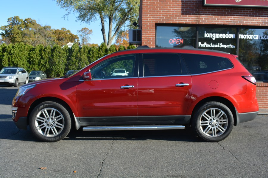 2014 Chevrolet Traverse AWD 4dr LT w/1LT, available for sale in ENFIELD, Connecticut | Longmeadow Motor Cars. ENFIELD, Connecticut