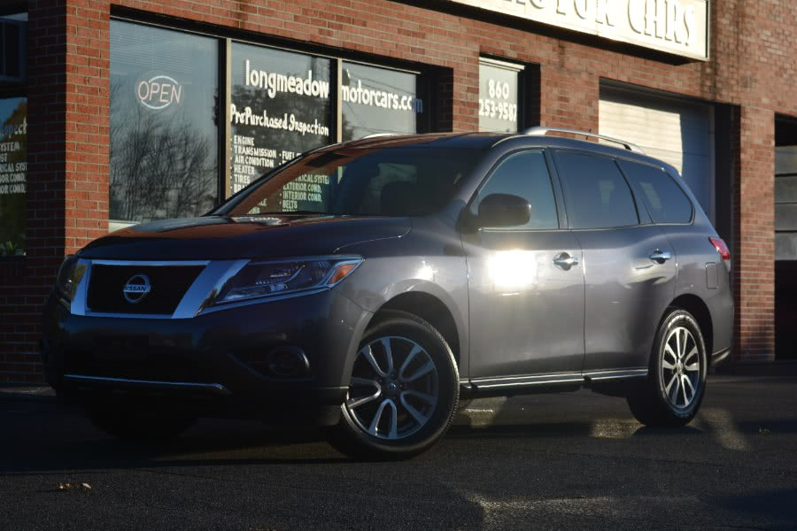 Used 2014 Nissan Pathfinder in ENFIELD, Connecticut | Longmeadow Motor Cars. ENFIELD, Connecticut