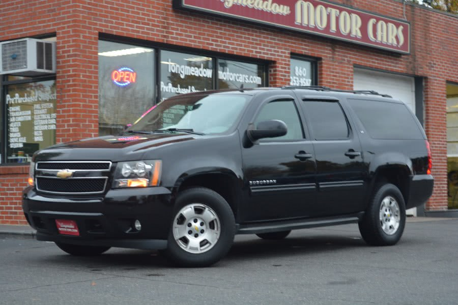 2011 Chevrolet Suburban 4WD 4dr 1500 LT, available for sale in ENFIELD, Connecticut | Longmeadow Motor Cars. ENFIELD, Connecticut