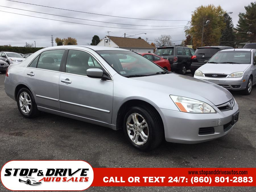 2007 Honda Accord Sdn 4dr I4 AT LX SE, available for sale in East Windsor, Connecticut | Stop & Drive Auto Sales. East Windsor, Connecticut