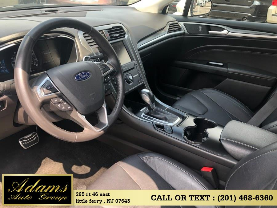 Used Ford Fusion 4dr Sdn Titanium FWD 2016 | Adams Auto Group . Little Ferry , New Jersey