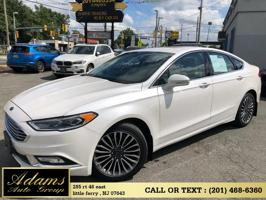 Used 2017 Ford Fusion in Little Ferry , New Jersey | Adams Auto Group . Little Ferry , New Jersey