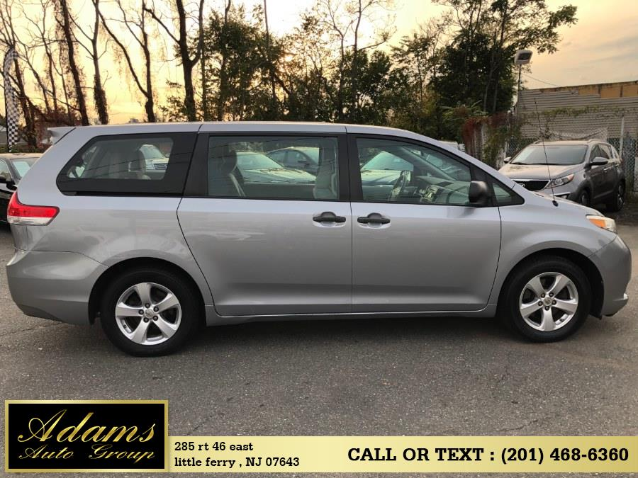 2011 Toyota Sienna 5dr 7-Pass Van V6 FWD, available for sale in Little Ferry , New Jersey | Adams Auto Group . Little Ferry , New Jersey