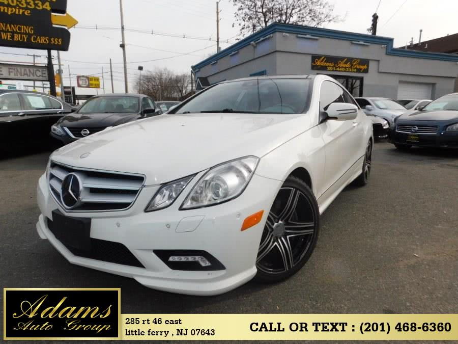 Used 2010 Mercedes-Benz E-Class in Little Ferry , New Jersey | Adams Auto Group . Little Ferry , New Jersey
