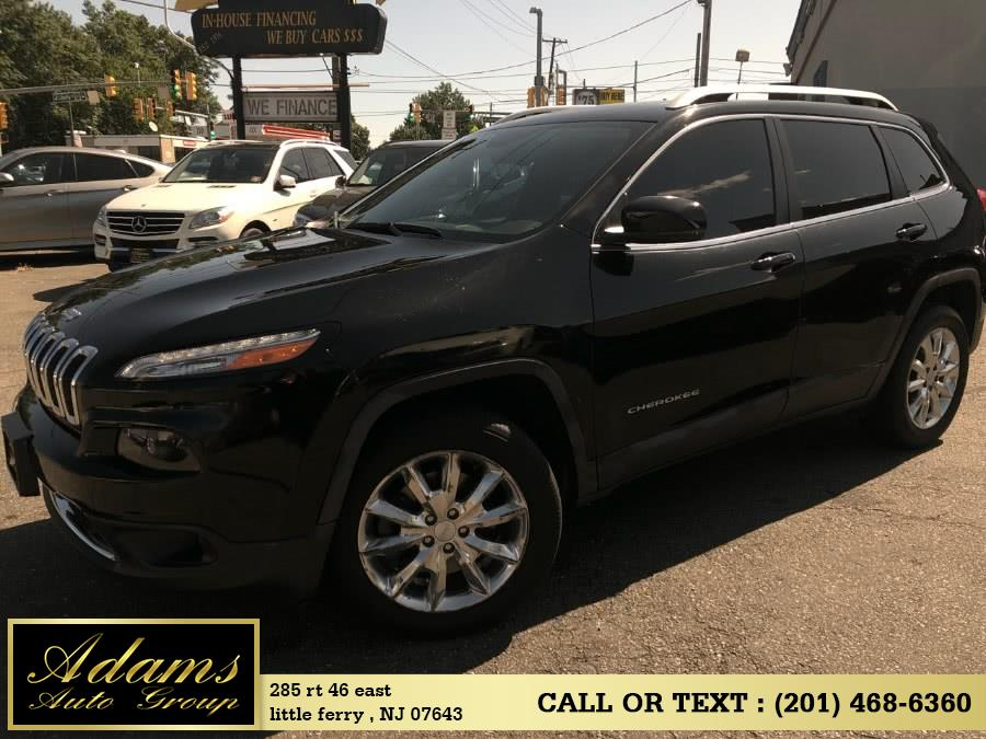 Used 2017 Jeep Cherokee in Little Ferry , New Jersey | Adams Auto Group . Little Ferry , New Jersey