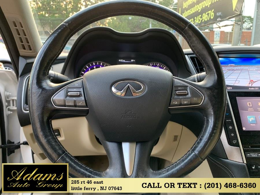 2015 Infiniti Q50 4dr Sdn Premium AWD, available for sale in Little Ferry , New Jersey | Adams Auto Group . Little Ferry , New Jersey