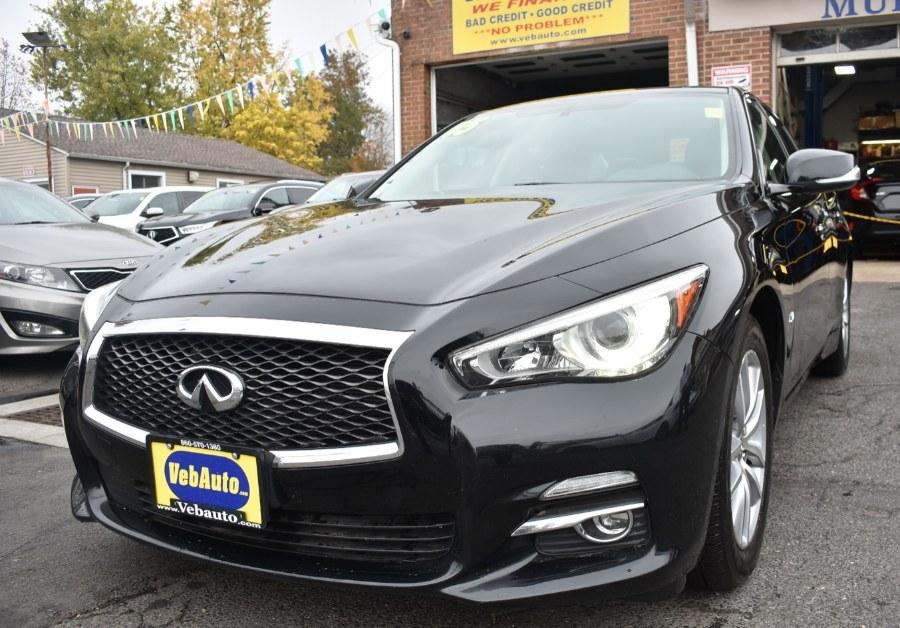 Used Infiniti Q50 4dr Sdn Premium AWD 2015   VEB Auto Sales. Hartford, Connecticut