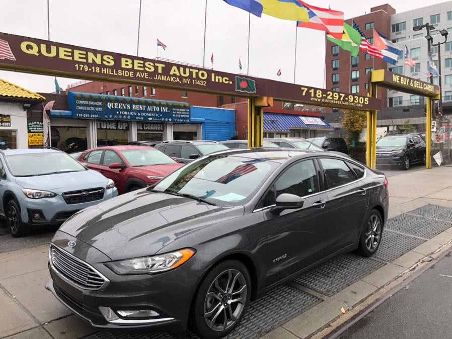 Used 2017 Ford Fusion in Jamaica, New York | Queens Best Auto, Inc.. Jamaica, New York