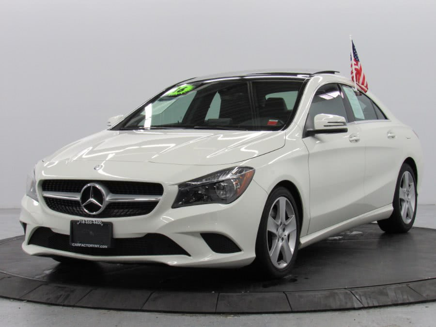 Used Mercedes-Benz CLA 4dr Sdn CLA 250 4MATIC 2016 | Car Factory Inc.. Bronx, New York