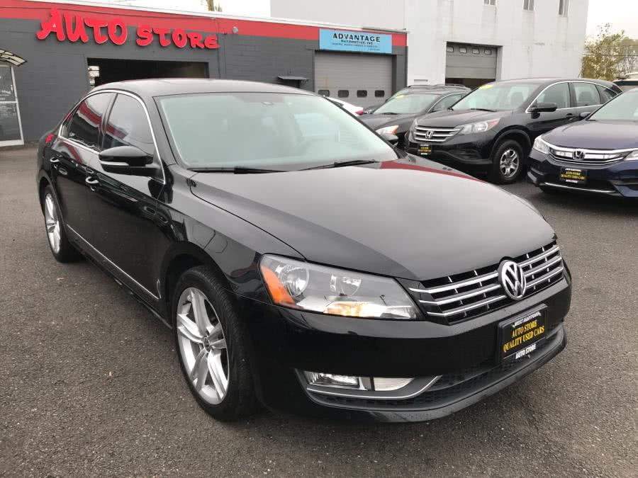 2014 Volkswagen Passat 4dr Sdn 2.0L DSG TDI SEL Premium, available for sale in West Hartford, Connecticut | Auto Store. West Hartford, Connecticut