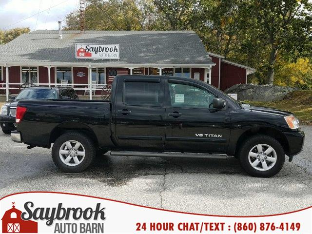 2013 Nissan Titan 4WD Crew Cab SWB SV, available for sale in Old Saybrook, Connecticut | Saybrook Auto Barn. Old Saybrook, Connecticut