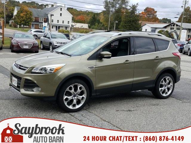2013 Ford Escape 4WD 4dr Titanium, available for sale in Old Saybrook, Connecticut   Saybrook Auto Barn. Old Saybrook, Connecticut
