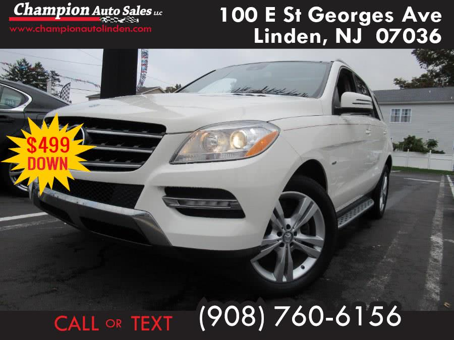 Used 2012 Mercedes-Benz M-Class in Linden, New Jersey | Champion Used Auto Sales. Linden, New Jersey